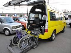 キャラバンバス車いす移動車 福祉車両 チェアキャブ