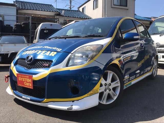 トヨタ ヴィッツ RS TRDレーシング ロールバー LSD