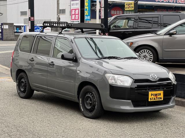 トヨタ プロボックス GL オールペイントルーフキャリア社外タイヤナビPW新品シートカバー