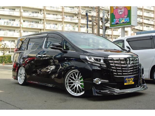 トヨタ 2.5S アルパイン10インチナビ 社外22AW 車高調