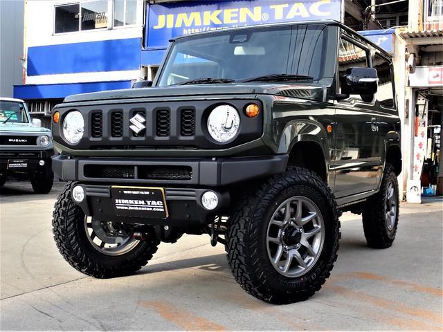スズキ XC 届出済未使用車・JIMKENTAC新品コンプリート・バンパーラプター塗装・6.50R16タイヤ4本新品
