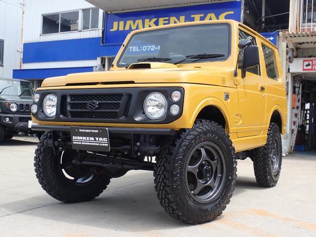 スズキ ジムニー ワイルドウインド リビルトエンジン&ターボ・JIMKENTAC新品スペシャルコンプリート・6.50R16タイヤ4本新品