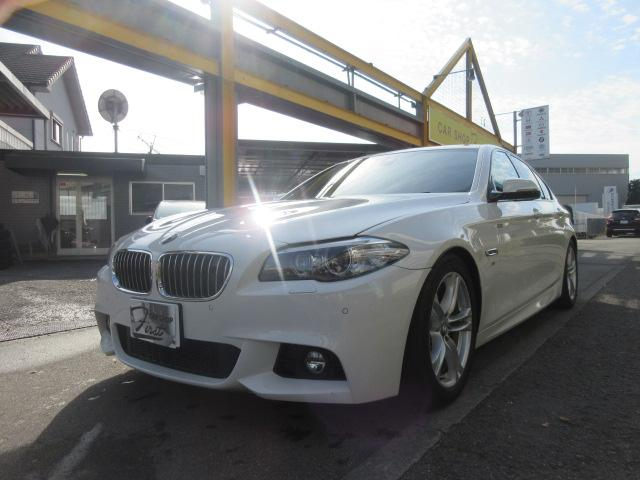 BMW 523d Mスポーツ ローダウンフルセグナビ
