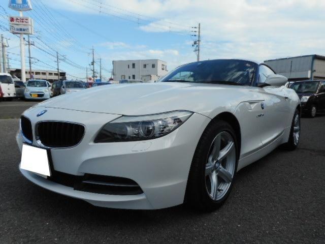 BMW Z4 sDrive23i ハイラインパッケージ キーレス 純正HDDナビ TV 革シート 電動シート シートヒーター ETC 電動オープン 純正アルミホイール HIDヘッドライト MTモード付6AT 修復歴なし