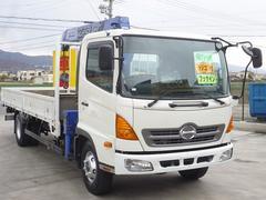 ヒノレンジャー4段クレーン ラジコン付 フックイン付 積載2900kg