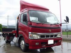 ダイナトラック積載車 極東開発フラトップ ステンレス工具箱