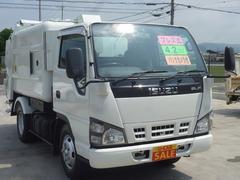 エルフトラックパッカー バックモニター プレス式 4.2立米 ABS