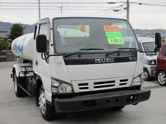 エルフトラック散水車 容量4リットル 極東製 フル装備