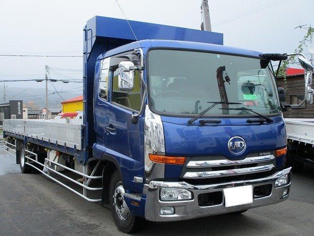 UDトラックス アルミブロック 増トン 積載7.2t ロング平 メッキパーツ