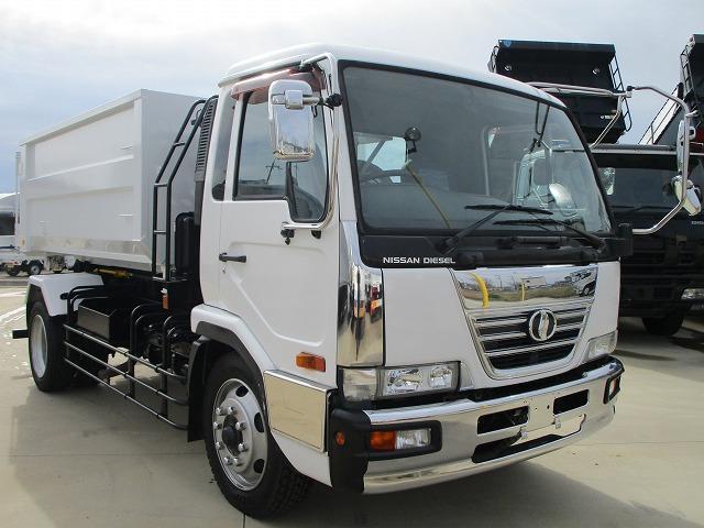 UDトラックス アームロール 増トン ツインシリンダー コンテナ 積載8.4