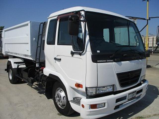 UDトラックス アームロール バッカン付 ベッド付 積載3.55t ターボ