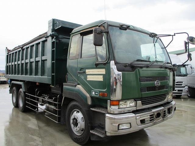 UDトラックス コンドル  ロングダンプ 積載6t コボレーン付 メッキパーツ メーカー新明和