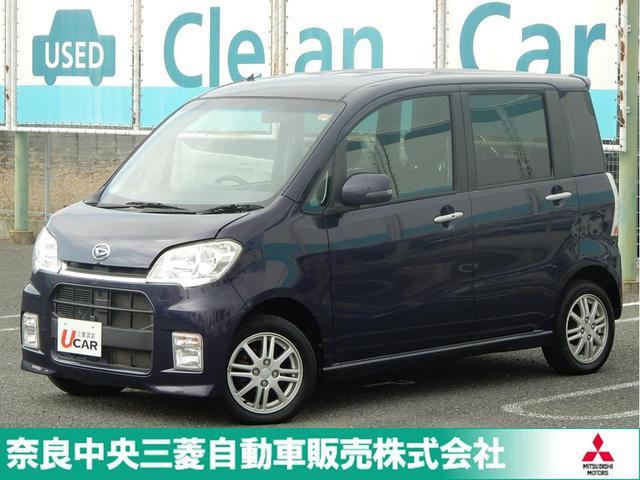 ダイハツ カスタムX ナビ ETC HID ABS 三菱認定UCAR