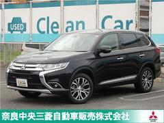 アウトランダー20GナビPKG 元試乗車 ワンオーナー 三菱認定UCAR
