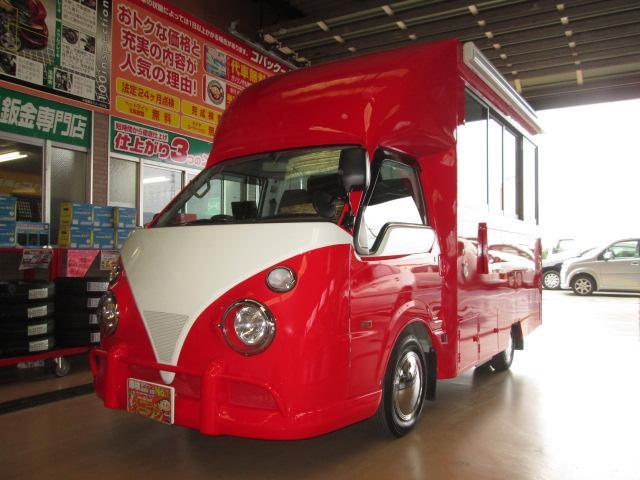 バネットトラック 移動販売車アーリールック東京横浜保健所対応ラーメン屋さん仕様