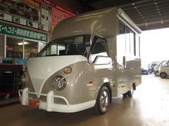 バネットトラック移動販売車仕様4WDアーリールック8ナンバー 全国保健所対応