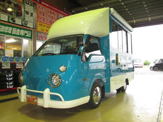 日産 移動販売車アーリー全国保健所対応ソフトクリームカフェ仕様