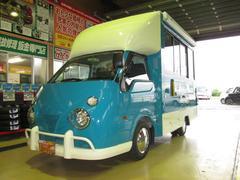 バネットトラック移動販売車アーリー全国保健所対応ソフトクリームカフェ仕様