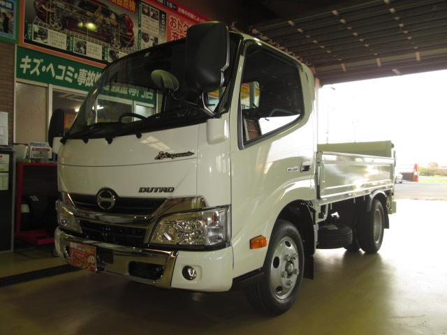 日野 ハイグレードPCS全低床3tトヨタ車体垂直Pゲート600kg