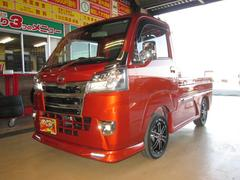 ハイゼットトラック4WDエクストラSAIIItエアロメッキLED15アルミ