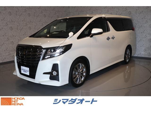 トヨタ アルファード 2.5S Aパッケージ タイプブラック 純正ナビ