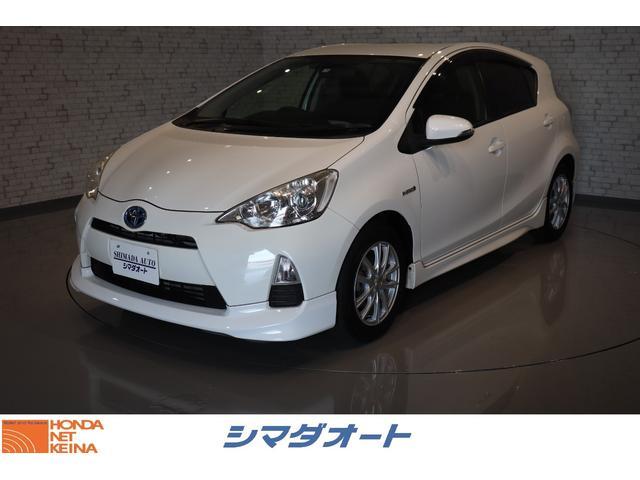 トヨタ Sスマートエントリーパッケージ 純正SDナビ ワンセグTV