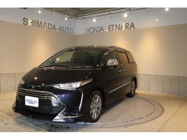 トヨタ アエラス プレミアム-G 7人乗り モデリスタエアロ付