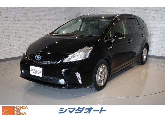トヨタ S チューン ブラック 純正SDナビ NSZA-X64T