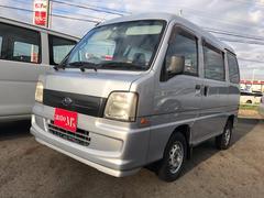 サンバーバントランスポーター AC AT 修復歴無 軽バン