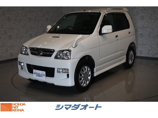 ダイハツ カスタムX CDオーディオ インテリキー 4WD
