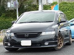 オデッセイアブソルート ナビ HKS車高調 RAYS18 Tチェーン