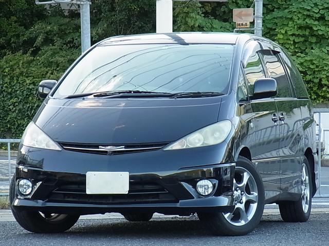 トヨタ アエラス-S キセノン 前後カメラ付ナビ ETC 7人乗