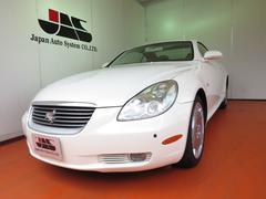 ソアラ430SCV マルチ 白革 電動オープン