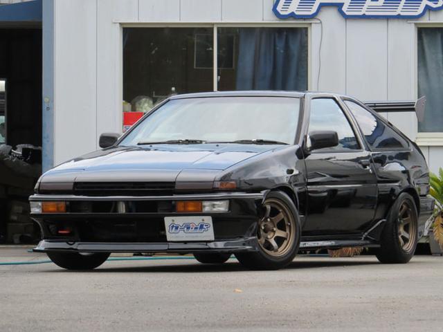 トヨタ GT-V AE86 3ナンバー公認20Vエンジン搭載