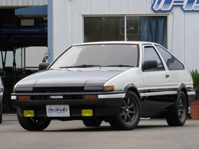 トヨタ GT APEX  AE86 5VエンジンイニシャルD仕様