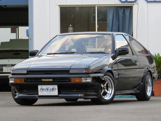 トヨタ GT APEX ブラックリミテッド 生産限定400台