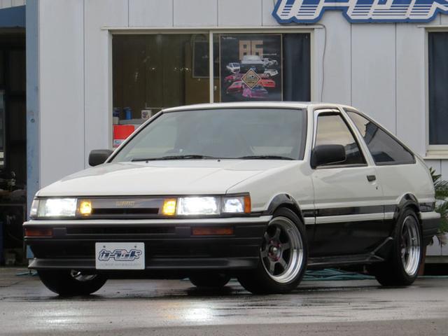 トヨタ GT APEX  AE86後期型 ライトチューニング仕様