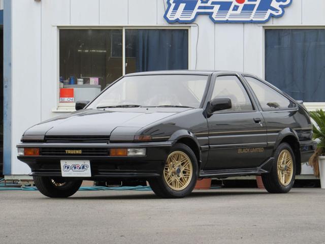 トヨタ GT APEX  ブラックリミテッド AE86