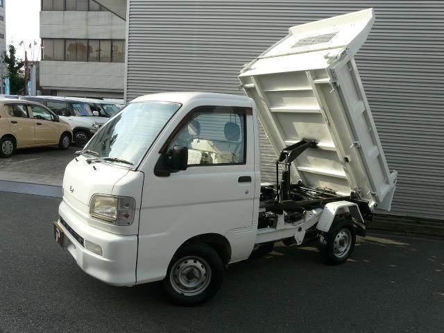 ダイハツ 多目的ダンプ PTO エアコン パワステ 4WD 5MT