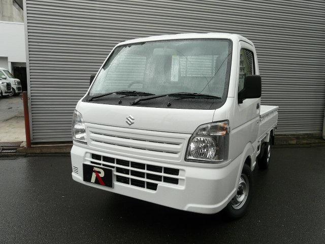 スズキ KCエアコン・パワステ WAB ABS 4WD 5MT 4型 届け出済み未使用車