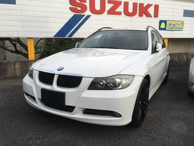 BMW 320iツーリング 19インチアルミ プッシュスタート