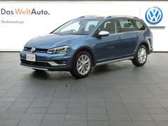 VW ゴルフオールトラックTSI 4モーション 登録済み未使用車 純正SDナビ