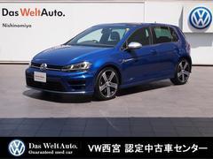 VW ゴルフRマニュアル仕様・ディスカバープロ・ACC・DCC・RC