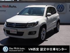 VW ティグアンRライン4モーション・純正SDナビ・RC・クルコン・ETC