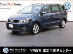 VW シャランハイライン・純正SDナビ・ACC・スマートキー・ETC・RC