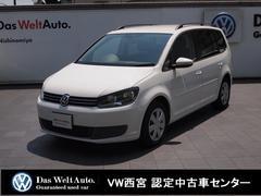 VW ゴルフトゥーランコンフォートライン・純正SDナビ・ETC・クルコン・RC
