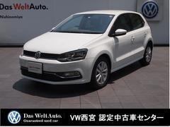 VW ポロコンフォートラインマイスター・純正SDナビ・RC・AW