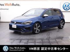 VW ゴルフR7.5モデル・9インチナビ・310PS・Bカメラ・認定中古車
