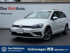 VW ゴルフヴァリアントRライン・Dプロ・アクティブインフォ・RC・ACC・Lキープ