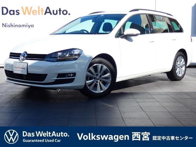 フォルクスワーゲン ゴルフヴァリアント TSI コンフォートライン Volkswagen 純正インフォテイメントシステム Discover Pro ナビゲーション 衝突軽減ブレーキシステム スマートエントリキー 認定中古車保証1年間 ETC 16インチ アルミホイール